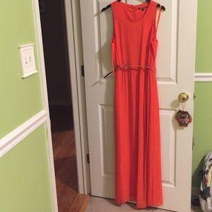 Orange Gianni Bini Prom/maxi dress